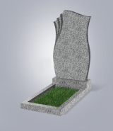 Светло-серый памятник L (высота 80 см)