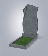 Темно-серый памятник ML (метровый)