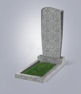 Светло-серый памятник Элит