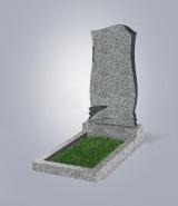 Светло-серый памятник ML (метровый)