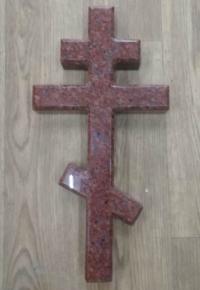 Крест гранит Красный