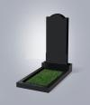 Памятник №10-L черный