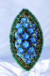 Венок v04 синяя лилия