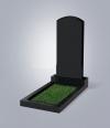 Памятник № 18 -L  черный
