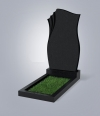 Памятник № 20-L черный